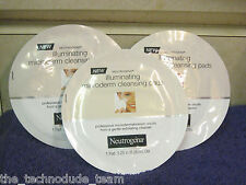 Lot of 5 Neutrogena Illuminating Microderm Cleansing Pads. Hard to Find. Rare!!