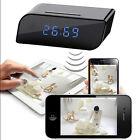 HD 720P Wireless Wifi IP Hidden Camera Motion Security Alarm Clock IR DV Cam New