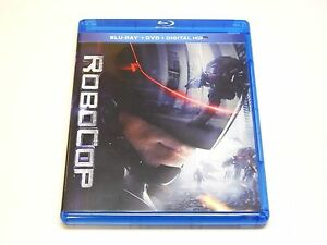 New RoboCop Blu-ray 2014 Joel Kinnaman | NO DVD OR DIGITAL ULTRAVIOLET COPY