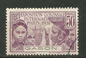 Gabon Scott #121(0) Exposicióbn Colonial 1931