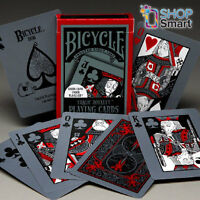 BICYCLE TRAGIC ROYALTY PLAYING CARDS DECK GLOW IN DARK UNDER BLACK LIGHT USPCC