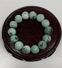 Natural Grade A Jade beaded bracelets( 12mm beads)