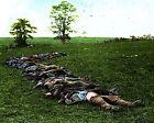 Confederate Rebel Dead Antietam Sharpsburg - Colorized 8x10 Civil War Photo
