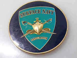 SURFACE NAVY ASSOCIATION PEARL HARBOR HAWAII CHALLENGE COIN