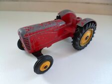 Tractor Massey Harris - Meccano - Dinky Toys - Red - England