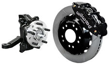 "WILWOOD FRONT DISC BRAKE KIT & DROP SPINDLES,71-87 CHEVY C10,GMC C15,13"" ROTORS"