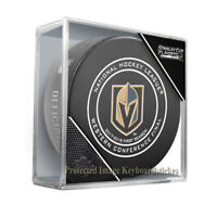 VEGAS GOLDEN KNIGHTS WESTERN CONFERENCE FINAL 2018 STANLEY CUP PLAYOFFS PUCK