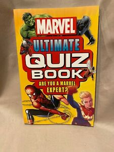 Marvel Ultimate Quiz Book: Are You a Marvel Expert? by DK (2019, Paperback) NEW