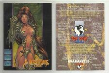 """1996 TOP COW """"WITCHBLADE"""" PROMO TRADING CARD - as NEW Condition"""