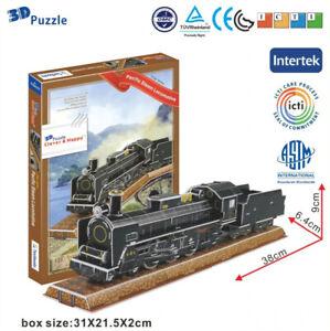 Pacific Steam Locomotive 3D Puzzle Jigsaw Model Train Series Korea Z-T045T