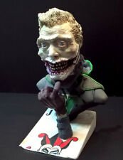 Wasteland/Dieselpunk Inspired Villain Laughing Man, Unpainted Resin Mini Bust