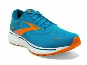 BROOKS GHOST 14 Scarpe Running / Corsa UOMO [+ GRATIS BRT] Vivid Blue/Orange/Whi