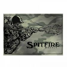 Spitfire Flame Thrower Camo Skateboard Sticker 5.75in
