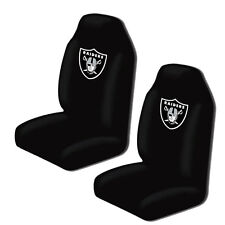 New NFL Oakland Raiders 2 Front Universal Fit Car Truck  Bucket Seat Covers