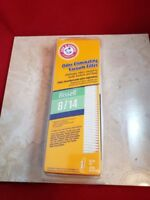 Bissell 8/14 Vacuum filter Arm & Hammer Odor Eliminating Vacuum Filter NEW