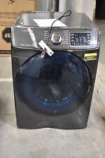 "Samsung Dv45K6500Gv 27"" Black Stainless Front Load Natural Gas Dryer Nob #104311"
