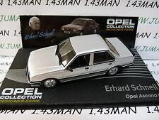 OPE127 1/43 IXO designer serie OPEL collection : ASCONA C E.Schnell