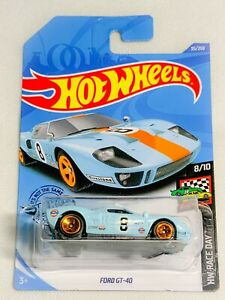 Hot Wheels Race Day Ford GT-40 Gulf 35/250