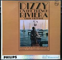 *48hrSALE* Dizzy Gillespie At French Riviera mono OG '62 DG Philips PHM 200-048