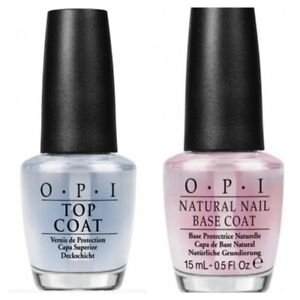 OPI Top Coat and Natural Nail Base Coat DUO Set **PERFECT CHRISTMAS GIFT**