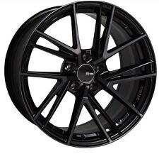 17x8 Enkei Rims TD5 5x114.3 +35 Pearl Black Rims Fits Veloster Mazda Speed 3