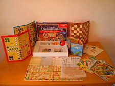 Große alte Spielesammlung für die ganze Familie einschl. Spielanleitungen, 70er