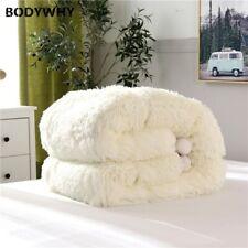 Winter Thick Mink Soft Velvet/Flannel Wadding Comforter Bedding 200X230 Quilt