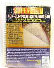 "SUPER GRIP NON SLIP SKID PROTECTIVE UNDER RUG PAD 57x110cm rugs  up to 3"" x 8"""