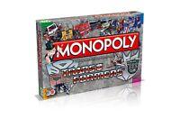 Monopoly The Transformers Edition Board Game English Spiel Brettspiel Englisch