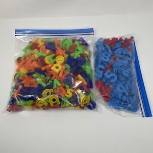 Large Lot of Magnetic Letters Numbers Lowercase Teacher Educational
