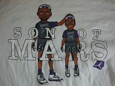 Michael Jordan Son Of Mars Blackmon Spike Lee NBA Caricature T Shirt Men's 4XL