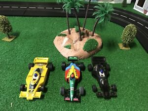 Vintage Scalextric F1 Cars X 3