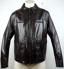 Porsche Design Sports Jacket Leather chaqueta de cuero señores chaqueta talla M nuevo con etiqueta