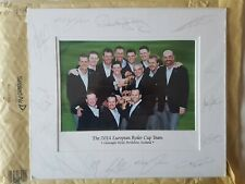 More details for team europe fully signed 2014 gleneagles ryder cup autographed photograph