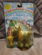 VINTAGE My Little Pony SUNBEAM MINT IN PACKAGE Unicorn Pony Rare MIB MIP Nice