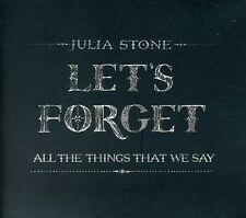 Julia Stone - Let's Forget All the Things That We Say [New CD] Australia - Impor
