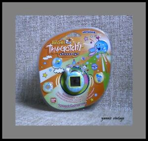 TAMAGOTCHI connexion Petrol MOSC BANDAI Version 4 JinSei Plus Handheld LCD Game