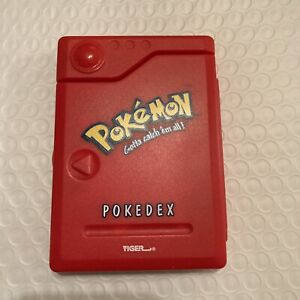 Original Pokemon Pokedex Handheld Game Tiger Electronics Vintage Toy Game