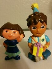 """Dora the explorer and Diego  Cake Toppers 3"""""""
