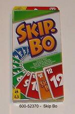 600-52370 - Mattel - Skip-Bo, juego de cartas NUEVO