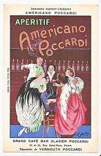 1922 Cappiello artist signed advertising original postcard Poccardi catalog $500