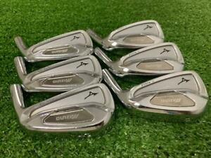 """Mizuno MP-59 Ti Muscle Japan version Iron set 5-PW Heads Only .355"""" Golf Clubs"""