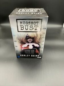 DC Comics Harley Quinn Collectible Mugshot Bust Statue Limited Edition