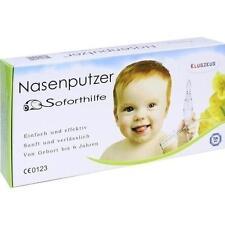 KLUGZEUG Nasenputzer Soforthilfe Nasensauger 1 St