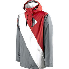 Special Blend Men's BRIGADE Snow Jacket - Markup Red - Medium - NWT - Reg $400