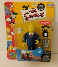 SIMPSONS SUPER INTENDANT CHALMERS ACTION FIGURE WORLD OF SPRINGFIELD PLAYMATES