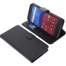 Tasche für Archos Core 55 Smartphone Book-Style Schutz Hülle Handytasche Buch