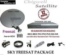 SKY BOX SATELLITE DIGI BOX, INCLUDING ZONE 1 DISH & 25M FULL KIT
