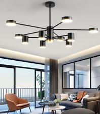 Modern 10-Light LED Chandelier Living Room Pendant Lamp Lighting Ceiling Fixture