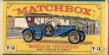 Repro Box Matchbox MOY Nr.12 1909 Thomas Flyabout